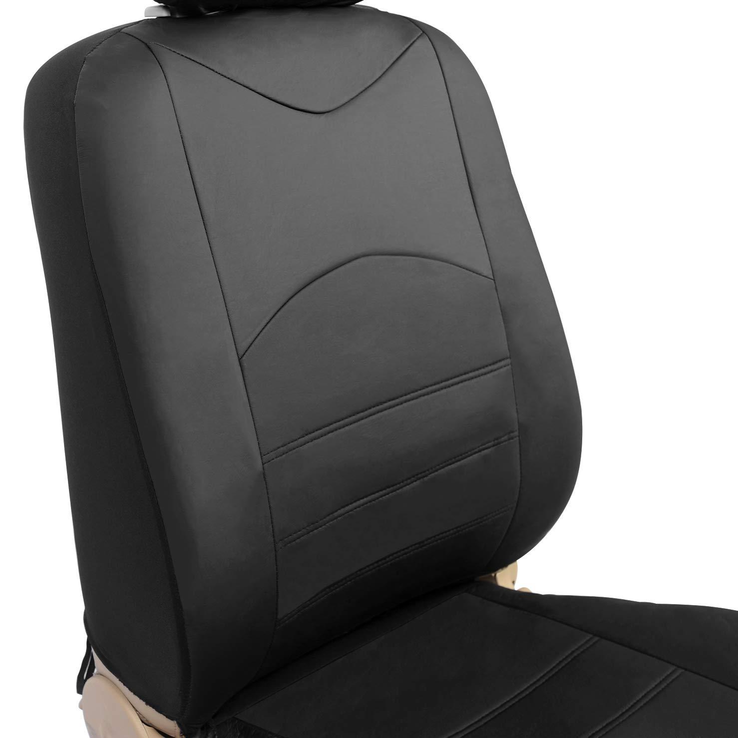 2er WOLTU AS7235gr-2 Einzelbezug vordere Sitzbezug f/ür Autositz ohne Seitenairbag