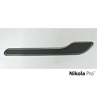 Nikola Pro Tesla Model 3 Door Handle Wrap Kit (Black Matrix): Automotive