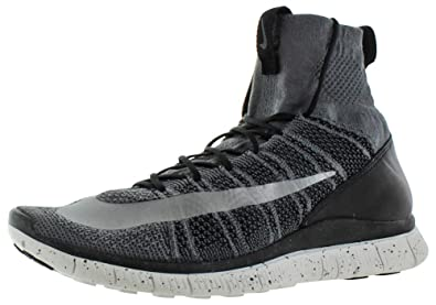 Nike Free Flyknit Mercurial Mens Hi Top Running Trainers 805554 Sneakers  Shoes (US 10.5,