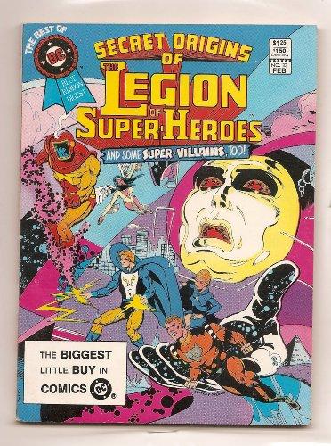 The Best of DC Blue Ribbon Digest, No. 33: Secret Origins of The Legion of Super-Heroes (February, 1983)