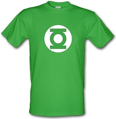 Linterna verde 100% algodón de cómics de superhéroe Big Bang Theory camiseta infantil. TODAS LAS EDADES: Amazon.es: Ropa y accesorios