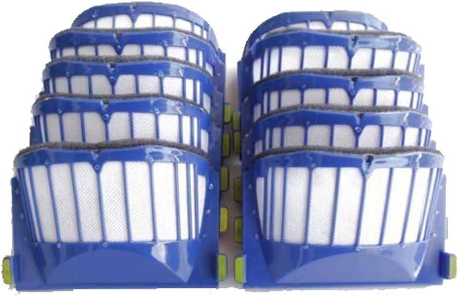 Gaoominy 10 Pi/èCes de Rechange pour Aspirateur Robot Mopa pour Filtre Hepa 780T 790T