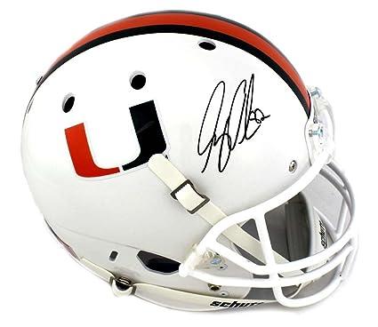 Greg Olsen Signed Miami Hurricanes Schutt Full Size NCAA Helmet -  Autographed College Helmets 4e2563f7e