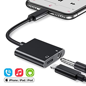 Amazon.com: Adaptador de jack de 0.138 in para iPhone 11 ...