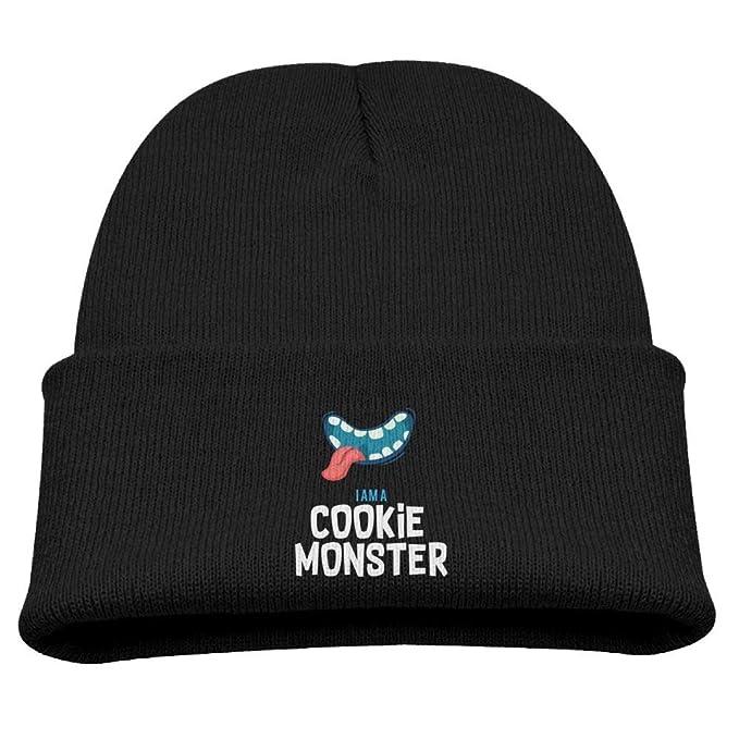 Amazon.com  IAMA Cookie Monster Skull Hat Beanie Caps Baby Boys ... 60842481572