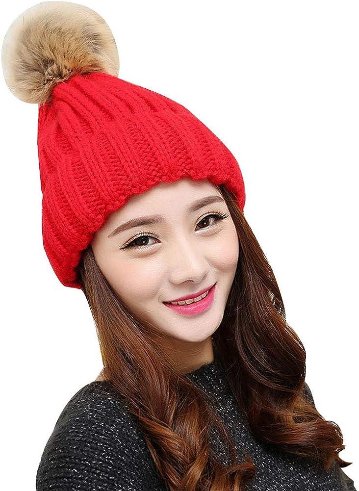 Winter Warm Hats Women Warm...