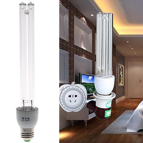 Liyudl 20w E27 Ac 220v Uv Light Uvc Ultraviolet Disinfection Ozone