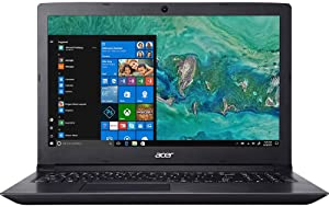 "Acer Aspire 3 15.6"" LED HD Laptop AMD Ryzen 3 2200U Radeon Vega 3 Graphics 1TB Hard Drive 8GB DDR4 Memory 802.11ac WiFi USB 3.0 Webcam SD Card Reader HDMI Ethernet Windows 10 Home"