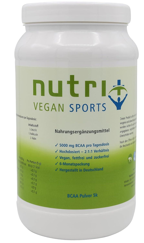 Nutri-Plus Vegan Sports BCAA Pulver