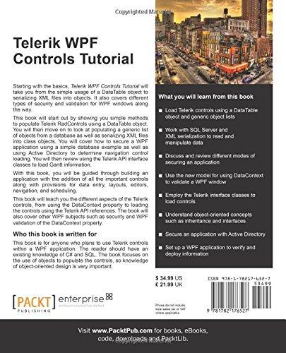 Telerik WPF Controls Tutorial: Daniel R  Spalding: 8601423447063