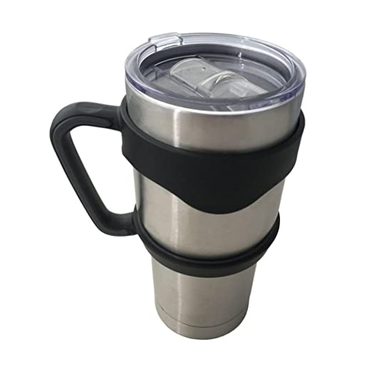 7a16dbc488 Amazon.com  NYKKOLA 2 Replacement Lids for 30oz Stainless Steel Tumbler  Travel Cup - Fits Yeti Rambler RTIC and others  Kitchen   Dining