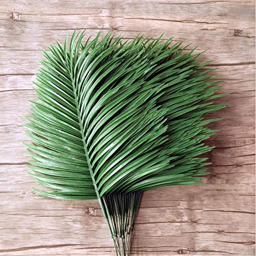 Flowers For - Artificial Ombre Kwai Leaf Branch Fake Palm Plants Plastic Grass Flower Garden Wedding Diy - Today Milk Decorating Embroidery Funeral Floating Bride Photoshoot Living Birth