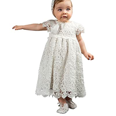Castle Fairy Children Cute Infant Lace Baptism Christians Tutu Flower Girl Dresses