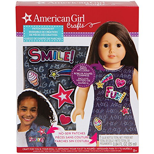 American Girl Dress Design Kit - No Sew Patches Sequins Instructions + Glue by Fashion Angels