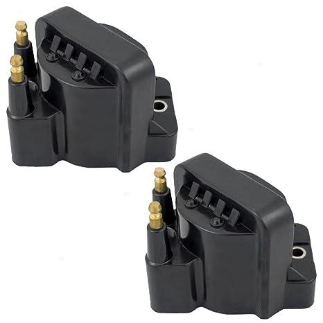 2 piezas Bobina de encendido Bujía módulos de unidades de repuesto para Chevrolet Oldsmobile Isuzu Pickup
