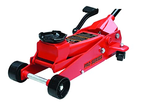 Torin Big Red Quick Lift Heavy Duty Floor Jack With Foot Pedal: Single  Piston Pump
