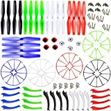 XiaoPengYo Spare Parts Propellers Blades Protection Fram + Landing Skid + Blades Cover Compatible for Syma X5H X5HC X5HW X5HC-1 X5HW-1 X5HW-I Quadcopter