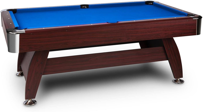 oneConcept Brighton - Mesa de billar (imitación de madera de ...