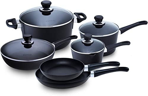 Classic Induction Cookware Set, 10-piece