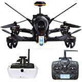 Walkera F210 Professional Deluxe Racer Quadcopter Drone w/ 5.8G Goggle4 FPV Glasses /Devo 7 Transmitter /700TVL Night Vision Camera / OSD / Ready to Fly Set RTF Mode 2