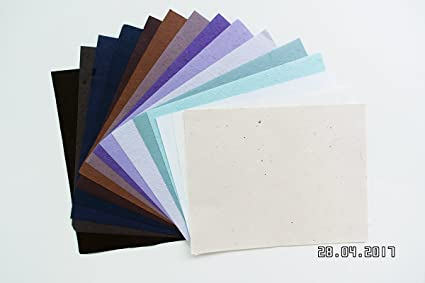Amazon Com 10 Pcs 8 5x11 In Thick Mulberry Paper Scrapbooking