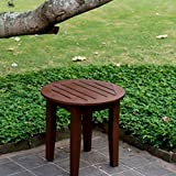 PATIO Furniture High Top Table Sets Clearance, Small Wooden Side Bistro Inexpensive Table for E-Book