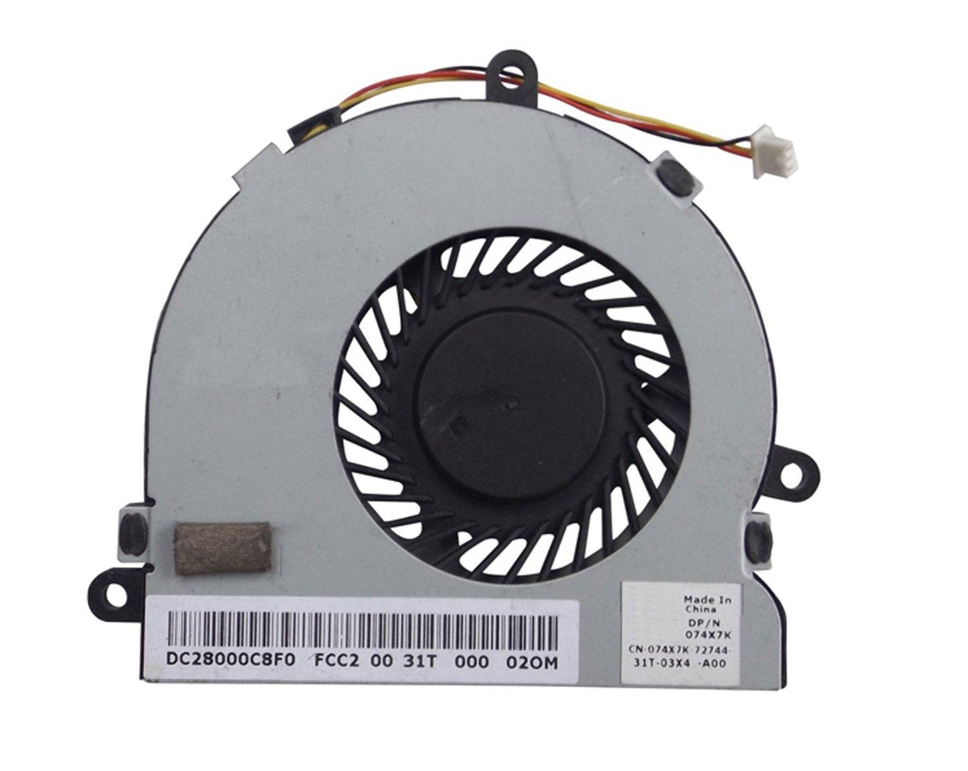Cooler Para DELL Inspiron 15 3521 i15RV-1667BLK 15.6
