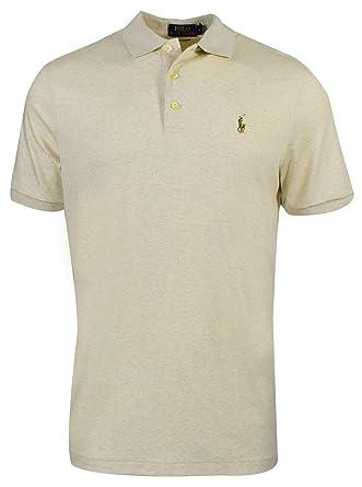 549fce450 Polo Ralph Lauren Polo T-Shirt for Men - American Heather: Amazon.ae