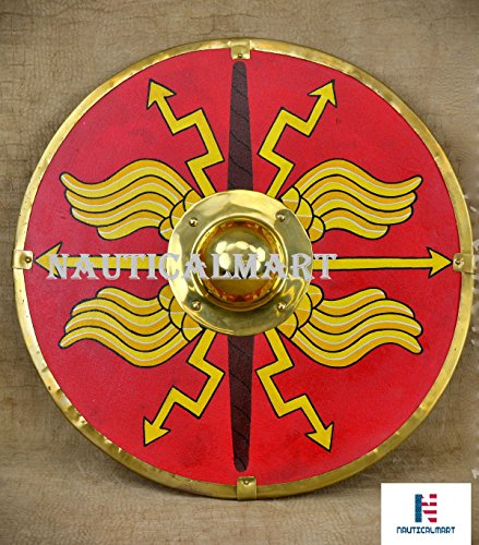 Roman Parma Shield - Red by NAUTICALMART