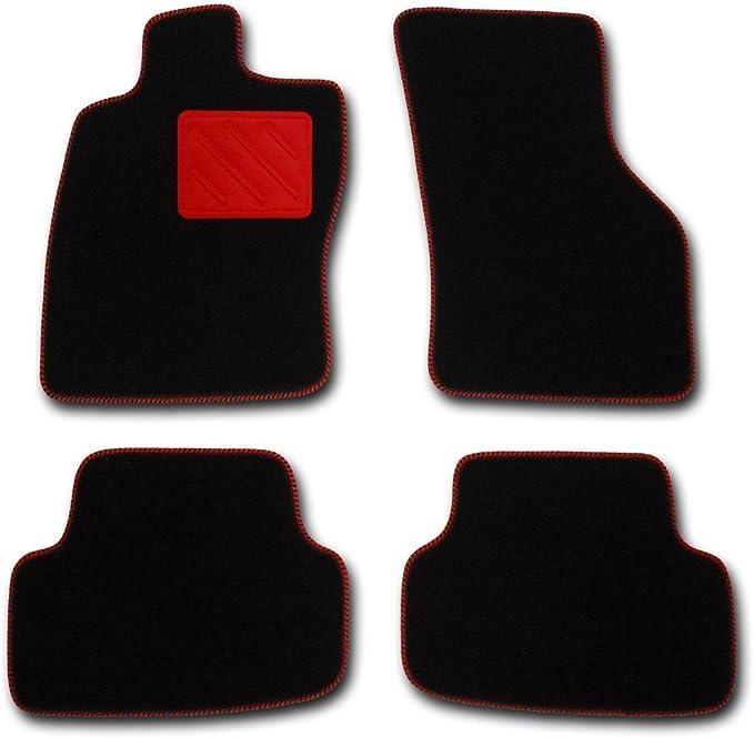Fussmatten Highlight Schwarz Mit Rotem Absatzschoner Fahrzeug Siehe Text Auto