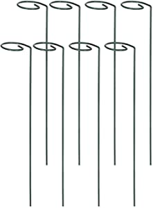 IPSXP Plant Support Stakes, Plant Stem Support Rings with 2.5