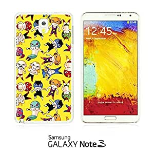 OnlineBestDigital - Cartoon Pattern Hard Back Case for Samsung Galaxy Note 3 N9000 - Cool Cartoon Wrestler