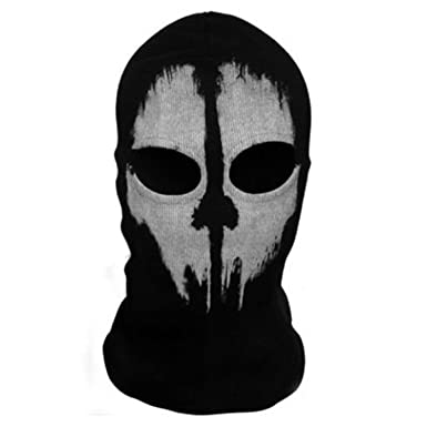 fdb61b22faa36 High Quality Balaclava Hood Face Ghost Skull Mask Hood Call Of Duty Ghost  Mask Biker Halloween Skateboard