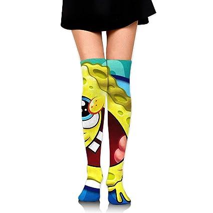 Amazoncom Jinunnu Women Thigh High Socks Compression Leg Warmer