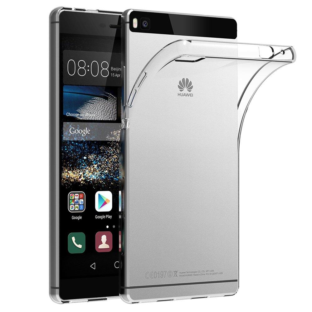 Funda Huawei P AICEK Huawei P Funda Transparente Gel Silicona Huawei P