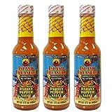 Island Treasure Jamaican Papaya Pepper Sauce 5oz (Pack of 3)