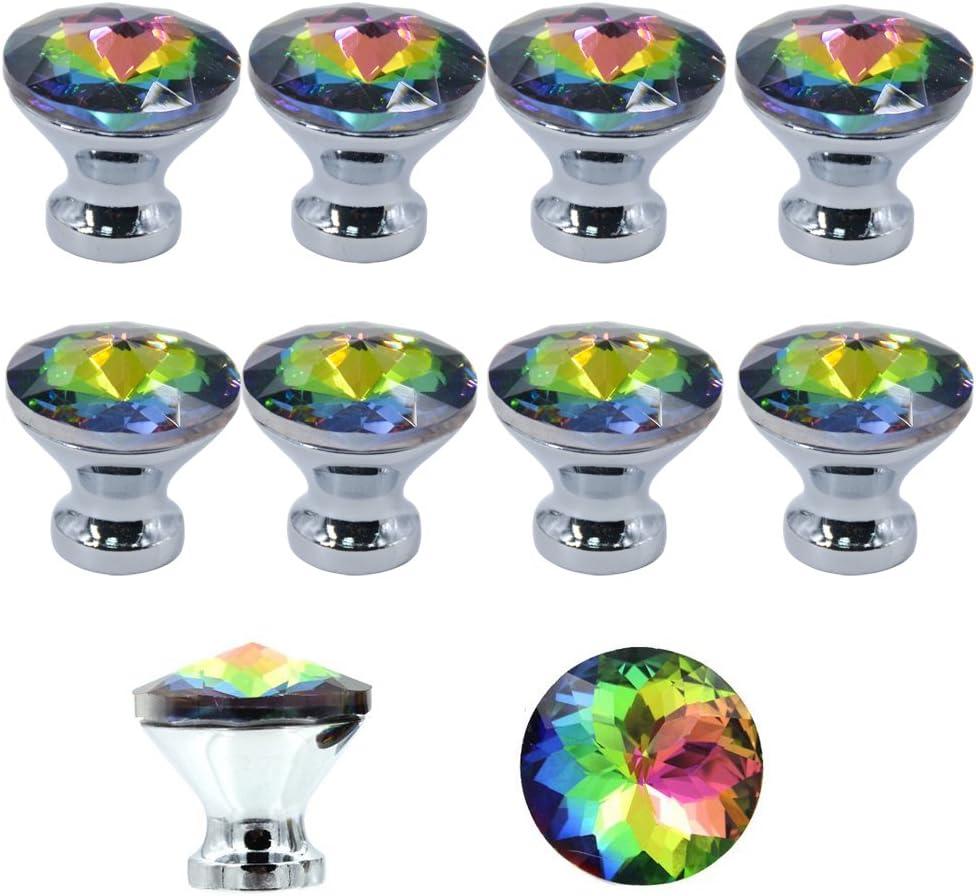 armadio mobiletti di cucina e bagno MyArmor cassetto credenza da 30/mm in splendido cristallo acrilico anta per porta set di 10 pomelli ecc persiane