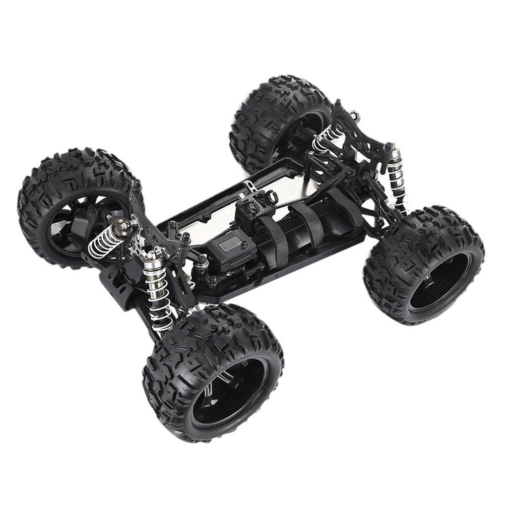 NON MagiDeal RC 1: 8 Kits Marco Cuerpo de Camión de Monstruo de Chasi con Ruedas para ZD Racing: Amazon.es: Juguetes y juegos