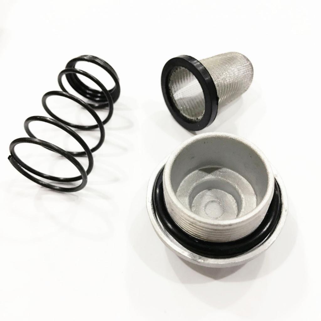 H HILABEE 4x Tornillo De Drenaje Del Filtro De Aceite Para Ciclomotor GY6 50-150cc Taotao