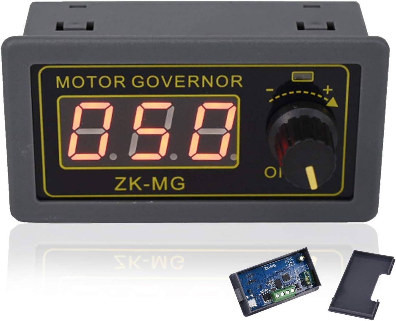 Blizim DC 5-30V PWM Motor Speed Controller Stepless Regulator LED Display