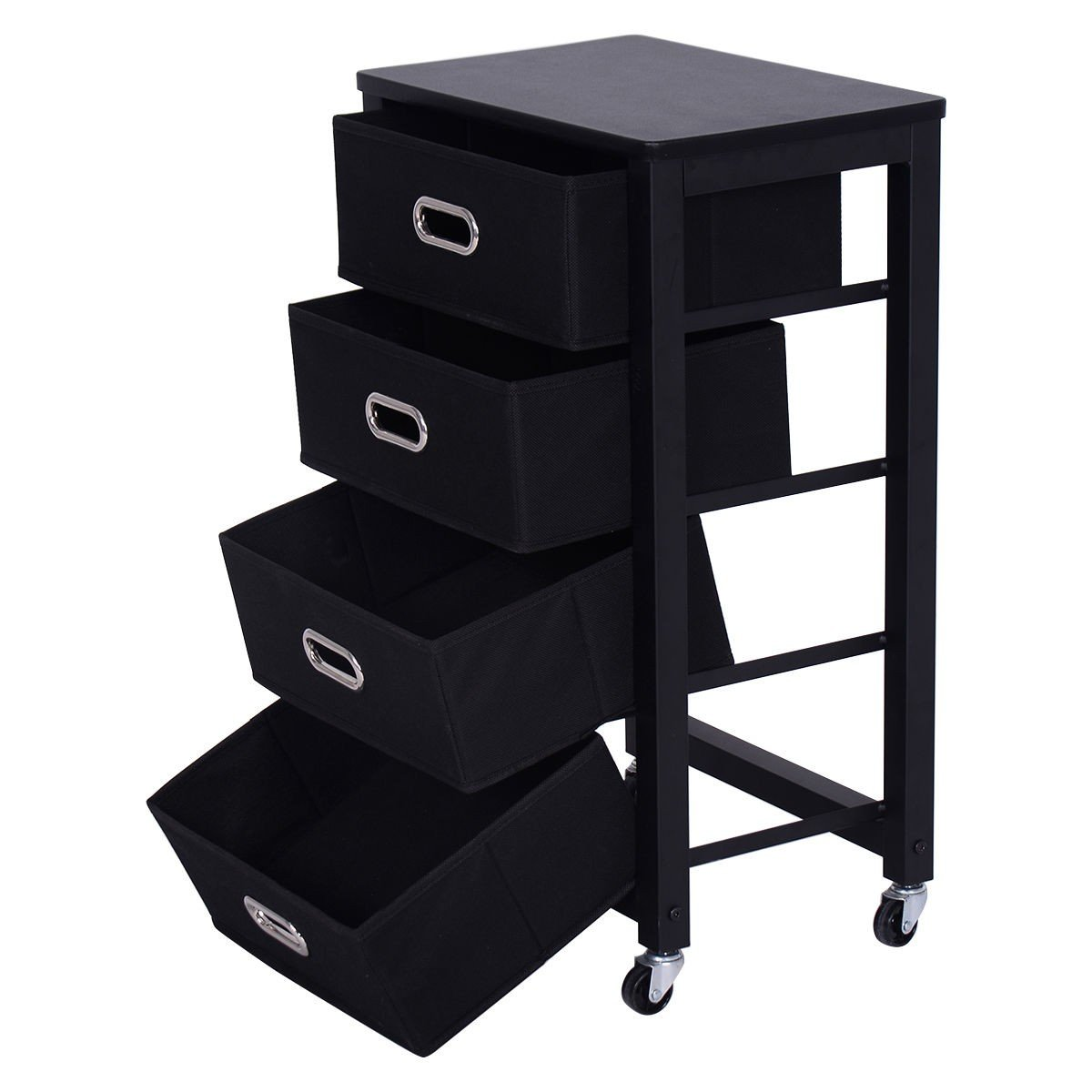 Rolling Heavy Duty File Cabinet with ebook by MRT SUPPLY (Image #5)