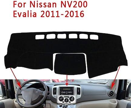 F/ür Nissan NV200 Evalia 2011-2016 LJVOVN Armaturenbrett Abdeckung Pad Sonnenblende Armaturenbrett Pad Autoteile Dashboard Sonnenschutz Pad