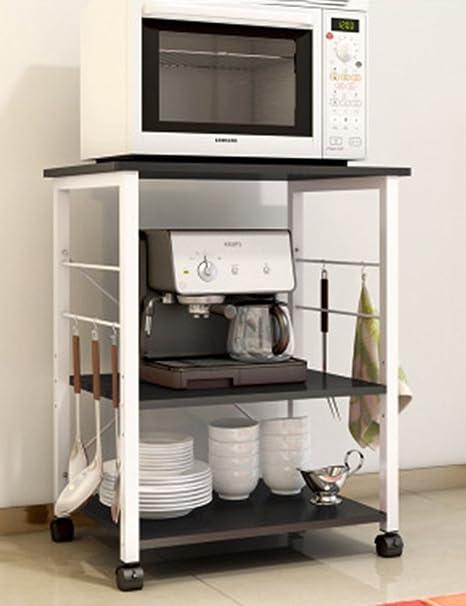 LZ-SNAIL Accessori da cucina Scaffale per cucina a microonde forno a ...