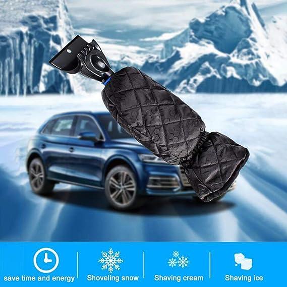 FJ Car Plastic Windshield Window Snow Ice Frost Removal Scraper Cleaning Tool A