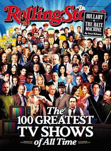 Rolling Stone Magazine (October 6, 2016) The 100 Greatest TV Shows of All Time Cover
