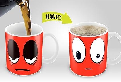 Amazon Heat Sensitive Mug Color Changing Coffee Mug