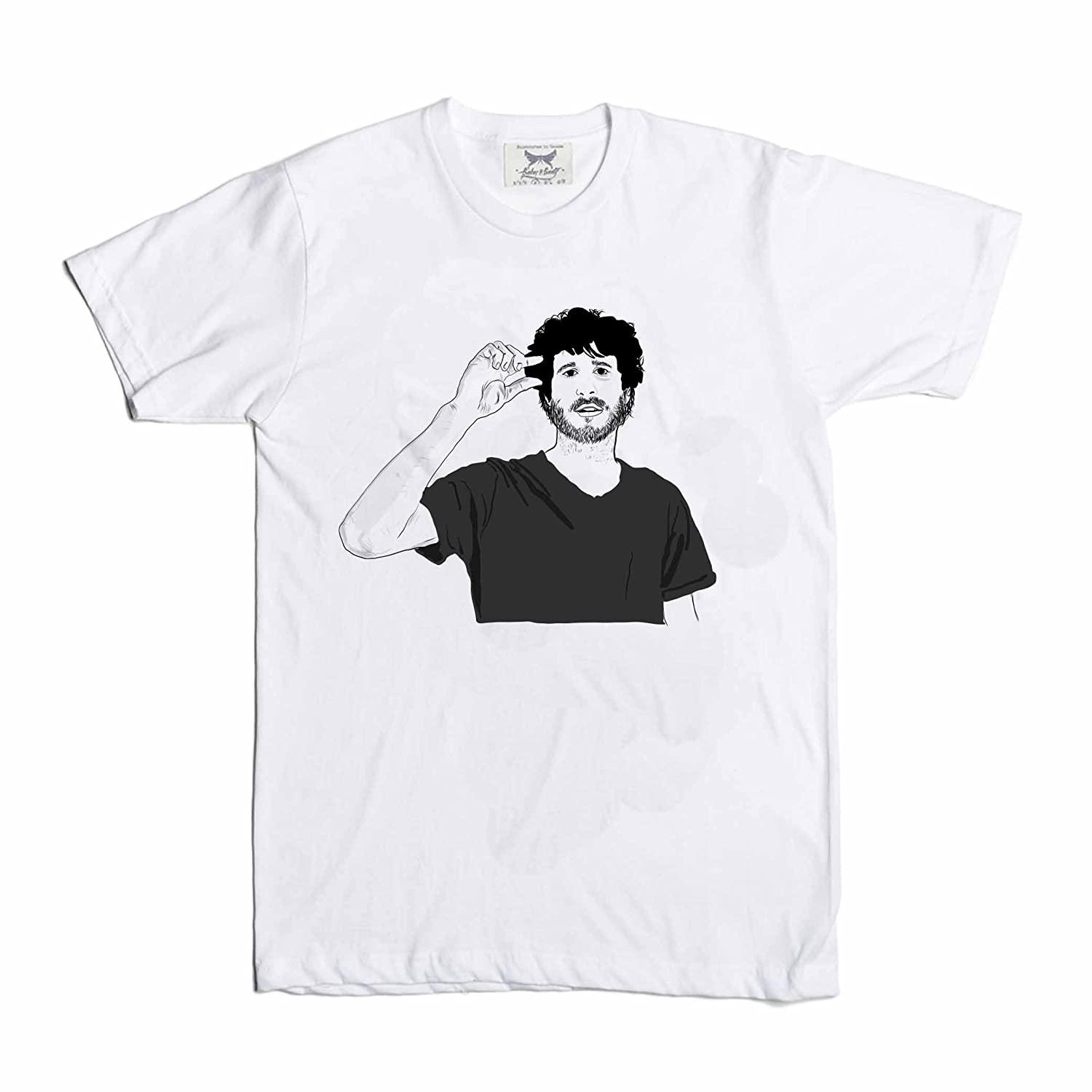 3f2d1ca021a Babes   Gents Lil Dicky White Tee (Unisex) at Amazon Men s Clothing store