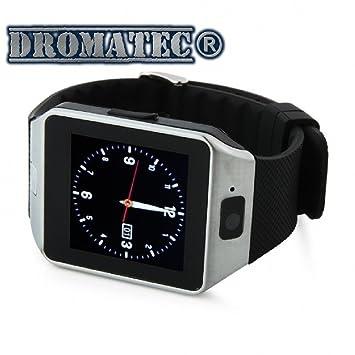 DROMATEC SW09 Smartwatch Montre connectée bluetooth SMS email Appel notification facebook tweeter whatsapp wechat viber messenger
