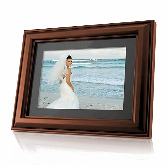 Amazon.com : Coby DP-768 7-Inch Widescreen Digital Photo Frame with MP3 Player and 2 Wood Frames : Digital Picture Frames : Camera & Photo