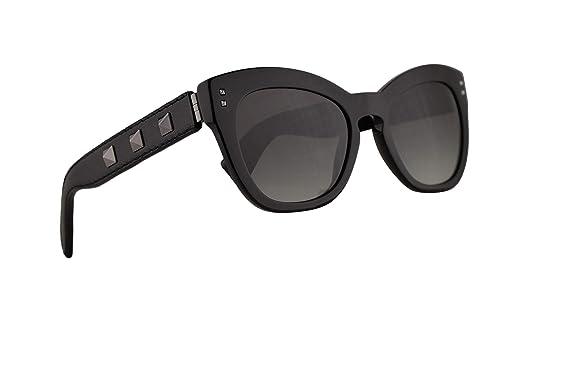 75d8630e78511 Amazon.com: Valentino VA 4037 Sunglasses Black w/Smoke Gradient Lens 53mm  50018G VA4037S VA4037/S VA4037: Clothing